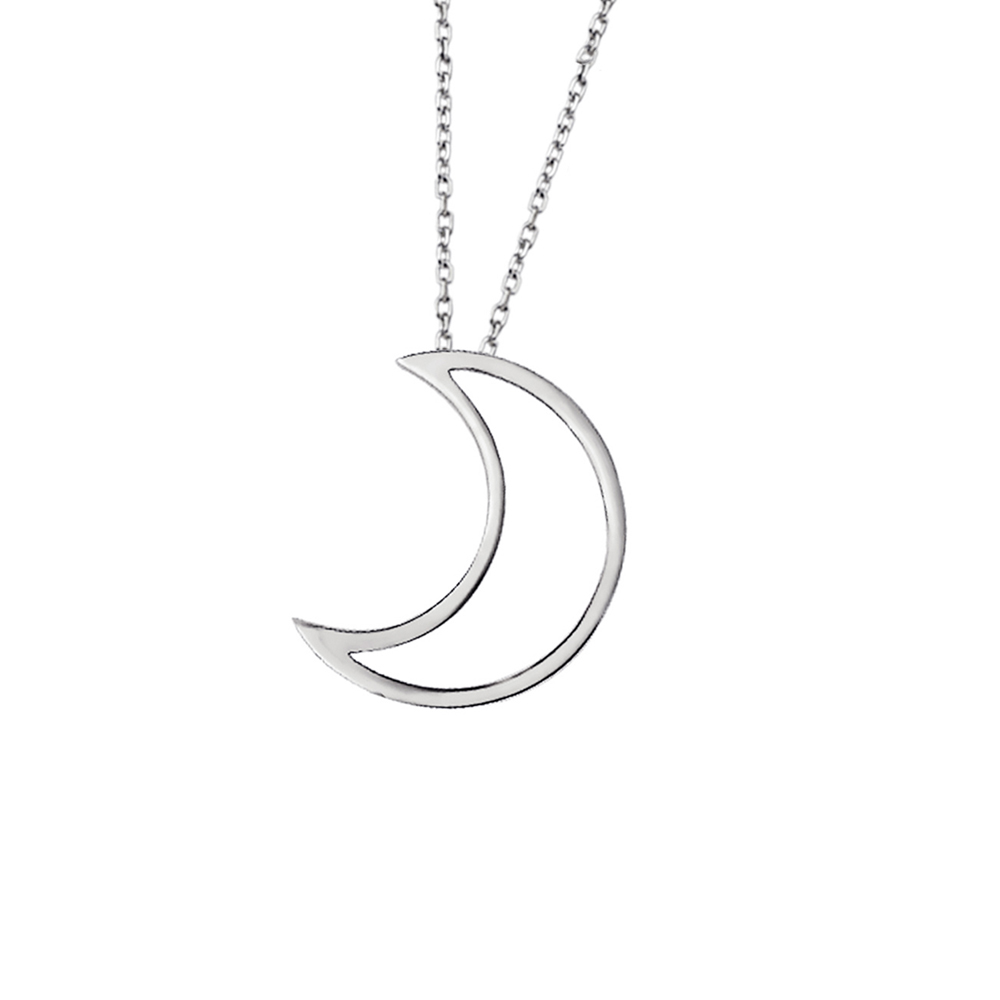 pendant crystal silver moon products tipperary blue ie emerging