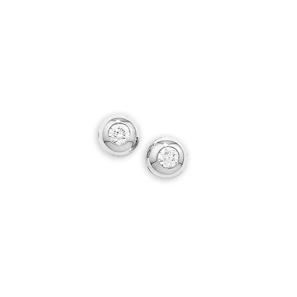 white gold stud jewellery earrings product diamond plate illusion