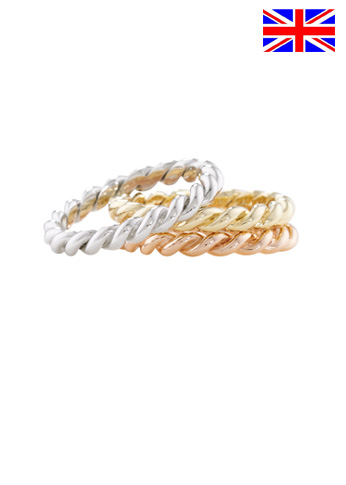 Gold stack rings0