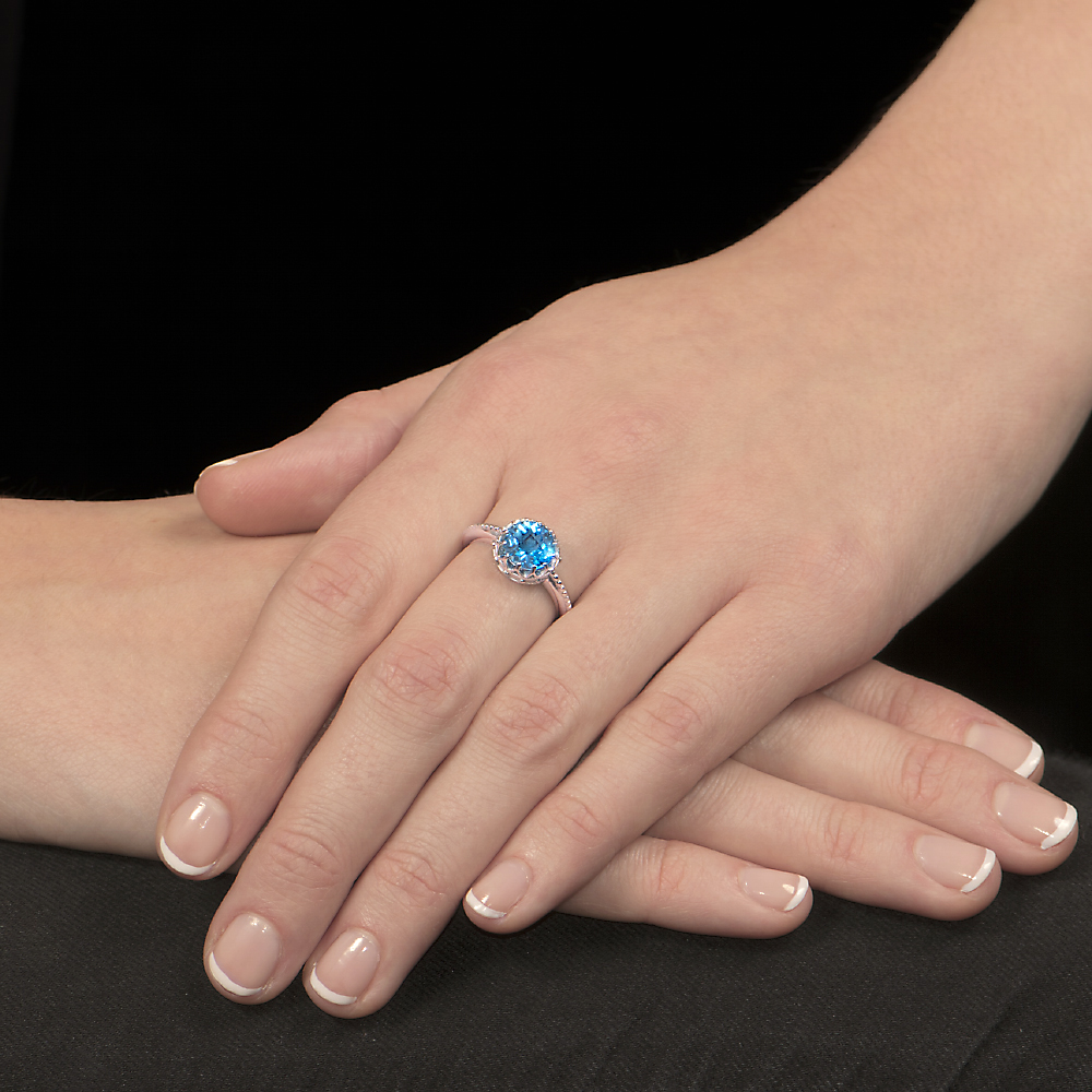 White -gold-blue-topaz-ring