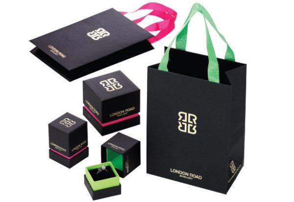 London road jewellery packaging