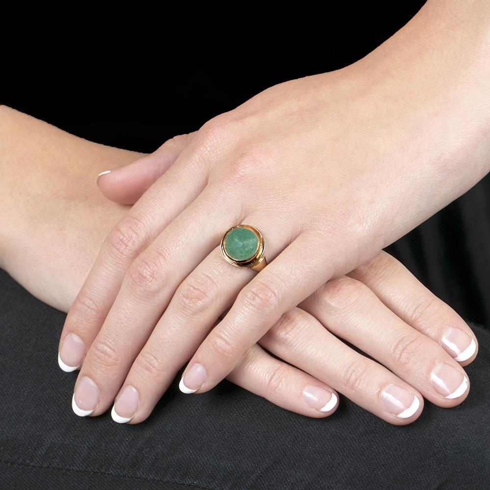 Modern Sloane Aventurine Ring