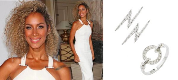 Leona Lewis wears London Road Jewellery