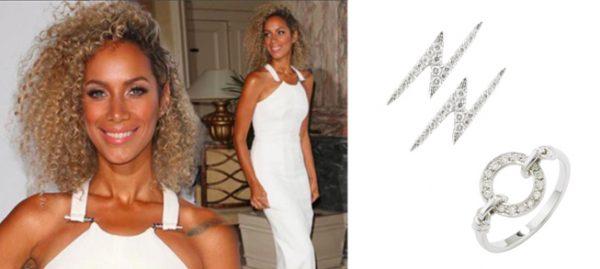 Leona Lewis wears London Road Jewellery